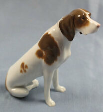 pointer jagdhund Porzellanfigur hund hundefigur figur porzellan Heubach um 1900