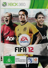 FIFA 12, Microsoft Xbox 360 game Complete, USED