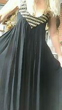 """SASS & BIDE """"High Roller"""" Silk Embellished Maxi Dress Sz 38 Rrp $850"""