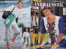 DIANA Landhaus-Stil Country Hose Rock Kleider Jacke Weste Folklore Tracht WIESN