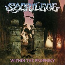 Sacrilege - Within the Prophecy BR edition w/ 5 BONUS tracks SEALED