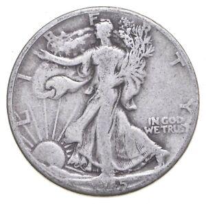 XF+ 1945-D Walking Liberty 90% Silver US Half Dollar - NICE COIN *453