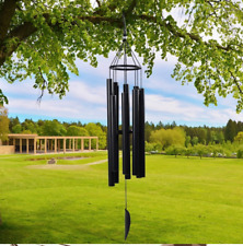 Wind Chimes Outdoor Large Deep Tone 8 Metal Tubes Wind Chimes for Home Garden/Ya