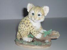 Cute Leopard Cub Figurine!