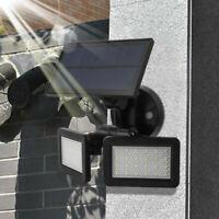 Étanche 48LED  Lampe Solaire Radar Sensor Jardin Extérieur Lumière Éclairage FR