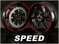Pegatinas para llantas SPEED Yamaha XJ6 XMAX 125 300 TMAX 530 500 600 1300