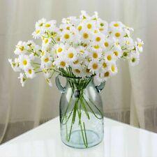1 Bouquet Artificial White Daisies Flowers Small Fresh Wedding Fairy Home Decor