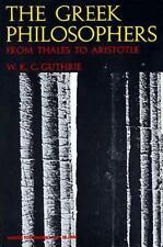 Harper Perennial Modern Thought: Greek Philosophers by William K. Guthrie