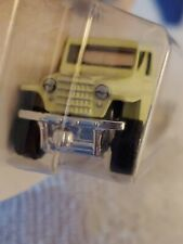 """1951 WILLY'S JEEP 4x4 MELLON YELLOW 3"""" IN LENGTH -MATCHBOX, COLLECTABLE & FUN!"""