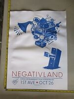 2006 Rock Roll Concert Poster Negativland Tooth S/N LE # 100