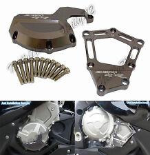Grigio Motore Statore Copertura Protezione Per BMW HP4 S1000R S1000RR S1000XR