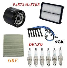 Tune Up Kit Filters Wire Spark Plugs For HYUNDAI TUCSON V6 2.7L 2005-2009