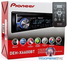 PIONEER DEH-X6600BT CD MP3 USB IPHONE AUX WMA IPOD BLUETOOTH EQUALIZER PANDORA