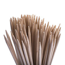 100 New Wooden Kebab Sticks, BBQ Skewers cotton candy floss