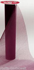 CREApop Deko-Stoff Organza-Streifen 29cm x 1m in verschiedenen Farben