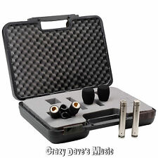 NEW Rode NT5 Matched Pair Pencil Condenser Microphones Stand Clips & Wind Shield