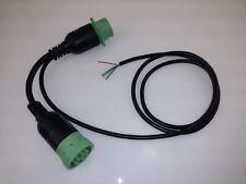 CAN/J1939/J1708/1587 Y splitter, Deutsch GREEN HD 9 pin diagnostic ELD cable