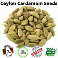 World No 1 Natural Ceylon Cardamom Seeds Pure Sri Lankan High Quality Spices 10g