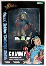 "In STOCK Kotobukiya Street Fighter ""Cammy"" Alpha Costume Bishoujo Statue"