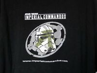 Star Wars Sci-Fire Imperial Commando Exclusive Black T-Shirt XXL