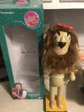 "Vintage The Wizard Of Oz Nutcracker Collection Cowardly Lion Kurt Adler 14.5"""