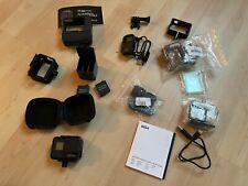 GoPro HERO7 Black mit riesigem Zubehörpaket wie Akktus, Gehäuse, Fernbedienung