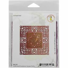 Lords & Commons Square Doily, Steel Cutting Dies CHEERY LYNN DESIGNS - NEW DL317