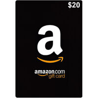$20 Amazon Card 20 Dollar Code - Fast & Free Email delivery - ONLY For USA
