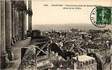 CPA  Mantes - Panorama pris de Notre-Dame (Sud de la Ville)    (352941)