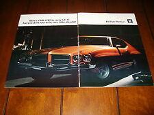 1971 PONTIAC GT-37    ***ORIGINAL 2 PAGE GT37 AD***