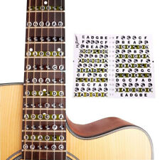 EG_ Fretboard Fret Map Acoustic Electric Guitar Note Scales Stickers for Beginne