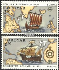 Danimarca-Isole Faroe 231-232 (completa Edizione) nuovo linguellato