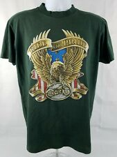 Vintage 80s Ride With Pride Eagle Bike Single Stitch Usa Made Large/Xl T Shirt
