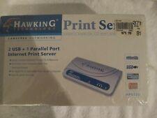 HAWKING TECHNOLOGY PRINT SERVER  HPS12U NEW SEALED