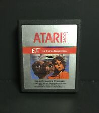 E.T. The Extra-Terrestrial (Atari 2600, 1982) Cart Only