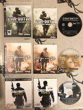 Call Of Duty COD Modern Warfare 1 2 3 MW MW2 MW3 Sony PS3 Games Complete