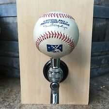 Portland Beavers TAP HANDLE Beer Keg Game Used Ball Pacific Coast League Minor