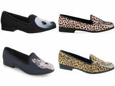 Canvas Animal Print Casual Shoes for Women
