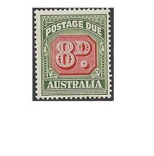 Australia 1958 8d POSTAGE DUE, Die II Mint Unhinged SG D138 (ACSC D154 CV $20)