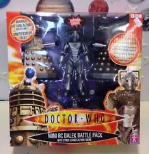 Doctor Who Mini RC Dalek Battle Pack With Cyber Leader New Character Options
