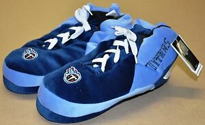 TITANS SNEAKER SLIPPERS - New - FREE U.S.A. SHIPPING - Tennessee Titans