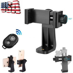Universal Cell Phone Tripod Adapter Holder Mount For iPhone & Android Smartphone