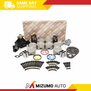 Overhaul Engine Rebuild Kit Fit 96-02 Cadillac Chevrolet GMC 5.7L OHV