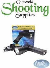 CLULITE (PLR-400) PISTOL LIGHT LED RECHARGEABLE TORCH, LAMPING, CAMPING, HUNTING