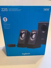 New Logitech Z213 2.1 Multimedia Speaker System OPEN BOX