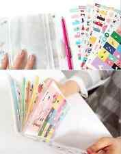 #69 Cute Joo Zoo 4 PVC 4 Paper Stickers/w Plastic Album Deco 8 sheets