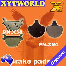 FRONT+REAR Brake Pads HARLEY DAVIDSON SPORTSTER 1987-94 1995 1996 1997 1998 1999