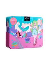 NYX Eyeshadow Sprinkle Town Shimmer Eye & Lip Kit Gift Set + Nude Pink Lip Gloss