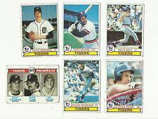 VINTAGE 1979 TOPPS Baseball CARDS – Detroit Tigers-MLB