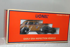 LIONEL  #28475 UNION PACIFIC EARLY ERA INSPECTION VEHICLE
